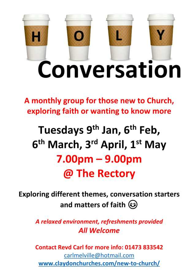 Holy conversations Poster-1