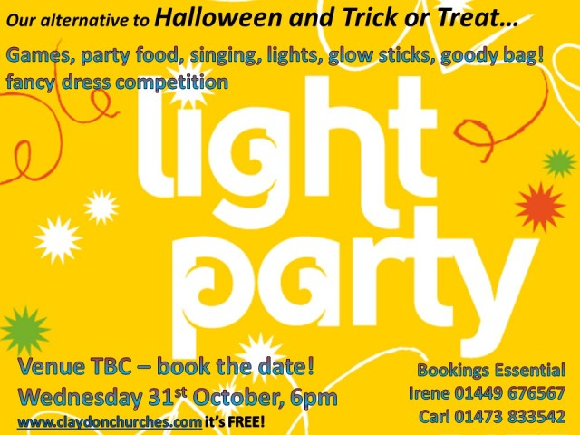 Light Party poster