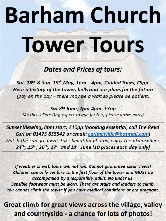 Barham Tower Tours