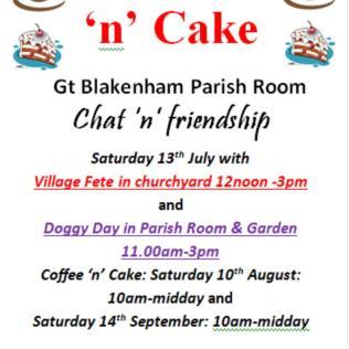 GB coffee n cake