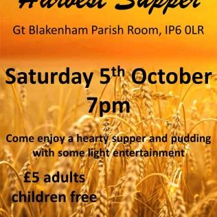 GB Harvest Supper