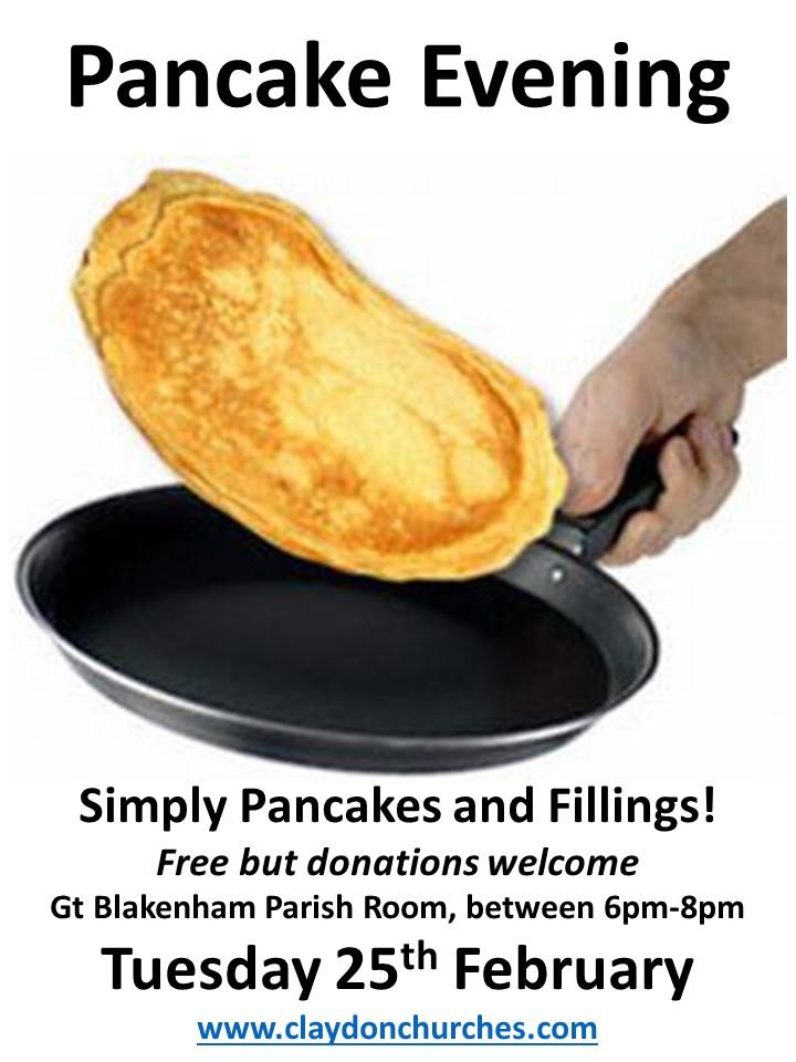 Pancake Evening